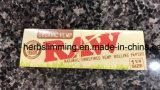 Papel 11/4 de cigarrillo orgánico sin procesar tamaño pequeño caliente estupendo