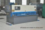 QC11k 8*2500 유압 CNC 단두대 절단 깎는 기계