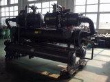 refrigerador de água de refrigeração água do mar do parafuso de 120kw -10c R404A