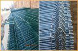Горячее гальванизированное цена загородки порошка изогнутое покрытием