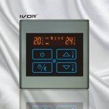 Bâti en plastique de chauffage par le sol de thermostat de commutateur programmable de contact (SK-HV2300-M)