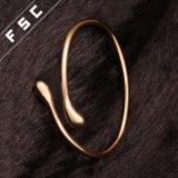 18k de Gouden Gevormde Armband van uitstekende kwaliteit van het Water Daling voor Meisjes