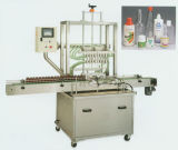 Máquina de etiquetado líquida linear de la máquina de rellenar de la bomba de engranaje de Pastecwith