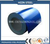Tôle d'acier enduite d'une première couche de peinture de Galvalume ASTM, DIN, GB, JIS