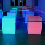 Cubo ligero de los muebles de la lámpara LED del RGB de la iluminación de la decoración (LDX-C01)