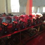 RGBW 9X10W DMX LEDのマトリックスの移動ヘッドライト
