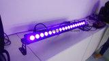 luz da arruela da parede do estágio do diodo emissor de luz In1 de 18*15W RGBWA+UV 6