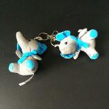 Personnaliser le jouet mou r3fléchissant de forme d'éléphant pour le cadeau de promotion