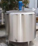 Réservoir revêtu de mélange de réservoir de réservoir de Jackete de réservoir d'acier inoxydable