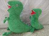 Giocattolo della peluche del dinosauro farcito abitudine
