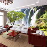Impresión superior del papel pintado del aislante fácil natural de alta resolución del paisaje