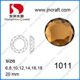 20mm, 25mm, 45mm Round Flat Back Glass Beads