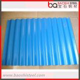 Hoja acanalada del material para techos de PPGI para el material de construcción