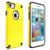 Doppelfarbe PC TPU schützender Telefon-Kasten für iPhone7/7plus