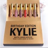 2017新しいKylie Jennerの口紅のKykieの良質のKylie Jenner著作の無光沢の液体の口紅の誕生日の版