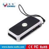 Mini haut-parleur sans fil portatif de Bluetooth avec Powerbank et lampe-torche