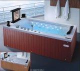 2000mm Rechthoek Vrije Permanente Massage Bathtub SPA met Ce RoHS voor 2 Mensen (bij-0506F TV dvd-1)