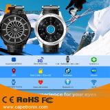 Andriod intelligente UhrK23 Android 4.4 preiswerter GPS-Uhr-Support 3G WiFi /GPS/ BT