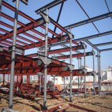 2 здания металла этажа Pre проектированных стальных для выставочного зала автомобиля