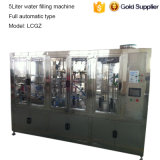 Automatische 5 Liter-Flaschen-Wasser-Produktions-Füllmaschine