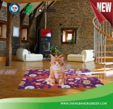 Estera de goma del animal doméstico de la estera del suelo de la nueva manera que juega la alfombra de la puerta de la estera