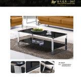 Quadrato nero moderno del tavolino da salotto del tavolino da salotto (YF-170071T)
