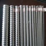 Conducto revestido hermético del metal flexible del PVC
