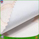 Poliester tejido materia textil casera franco impermeable de la tela del poliester que se reúne la tela de la cortina de Blackour