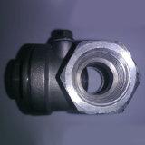 Aço inoxidável rosqueado NPT/válvula de verificação de bronze do balanço
