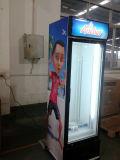 유리제 문을%s 가진 병 음료 저장 음료 냉장고
