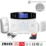 Sistema di allarme senza fili di obbligazione domestica di intrusione di GSM con 100 zone senza fili
