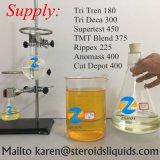 고통 없이 혼합 반 완료한 혼합 스테로이드 기름 Supertest 450를 시험하십시오