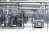 Cadena de producción pasterizada del yogur de la leche de Uht