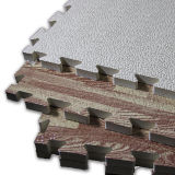 Matrice de protection de sol en mousse de puzzle de haute qualité, tapis de salle de gym en moquette