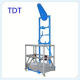 Plate-forme en aluminium Zlp800 de levage de Tdt de prix usine