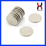 Спеченный высоким качеством магнит круга NdFeB круглый (D13*2mm)