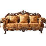 Klassisches Gewebe-Sofa mit Schränken für Wohnzimmer-Möbel (D929)