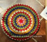 De hand haakt Decoratie van het Kussen van de Meditatie Futon van de Mat van het Stootkussen Zen de Pastorale