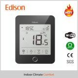 Thermostat intelligent de pièce de chauffage par le sol de WiFi avec à télécommande pour l'IOS/téléphone cellulaire androïde