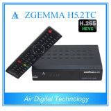 Zgemma H5.2tc Tweeling dvb-C/T2 + dvb-S2 Steun Multi-Steam H. 265 de Decoder van TV