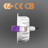 3 인치 물 증거 IP65에 의하여 중단되는 LED Downlight