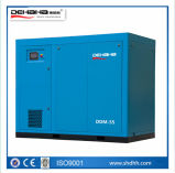 90kw-250kw de Vaste Compressoren in twee stadia van de Lucht van de Schroef van de Snelheid