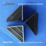 Qinuoの習慣75*75*75mmは黒3味方されたボックスすみ金を厚くした