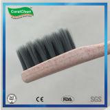 Umweltfreundliche Stroh-Weizen-Zahnbürste mit Bambusholzkohle