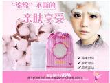 Cotone comodo molle 100% di trucco del cotone del cotone di Mofa Meiren del lato facciale del doppio