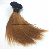 Dicha recta brasileña de la pulgada Ot1b-30 del color 10 de Ombre del pelo de la Virgen