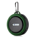 A mini caixa sadia estereofónica de alta fidelidade portátil C6 de Subwoofer Waterproof o altofalante do chuveiro do altofalante de Bluetooth para ao ar livre