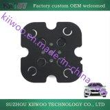 Piezas modificadas para requisitos particulares del caucho de silicón de la fábrica