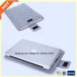 무료 샘플 MacBook HP 13를 위한 최고 질 펠트 휴대용 컴퓨터 부대 15 17inch