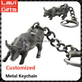 Metal feito sob encomenda elevado Keychains de Quingity do Sell quente